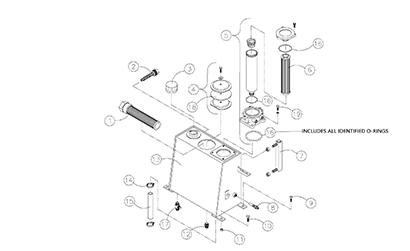 Diagram 07-A Hydraulic Reservoir Assembly