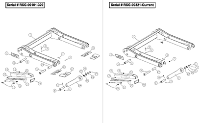Diagram 28-A Lift Arm Linkage Assembly