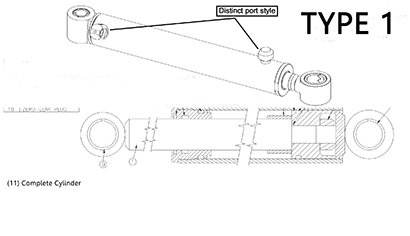 Diagram 15.2-A Hydraulic Boom Lift Cylinder - Type 1
