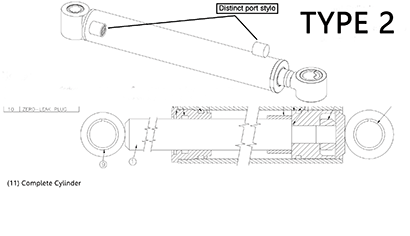 Diagram 15.2-B Hydraulic Boom Lift Cylinder - Type 2