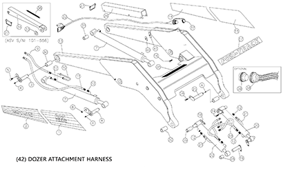 Diagram 24-A Lift Arm Assembly