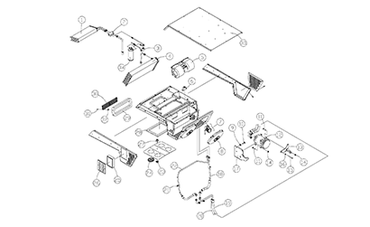Diagram 25-A Air Conditioning Assembly - Optional