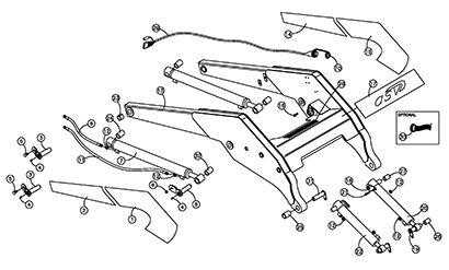 Diagram 15-A Lift Arm Assembly