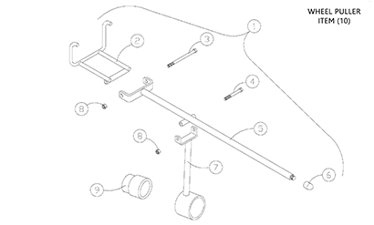 Diagram 20-A Track Installation Tool