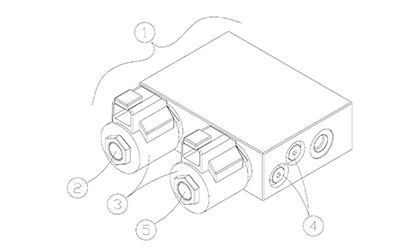 Diagram 10-A Two-Speed and Brake Manifold
