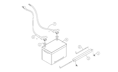 Diagram 14-A Battery Assembly