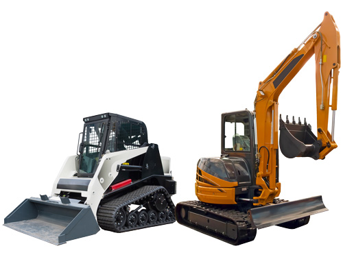 Mini Excavator and Compact Track Loader