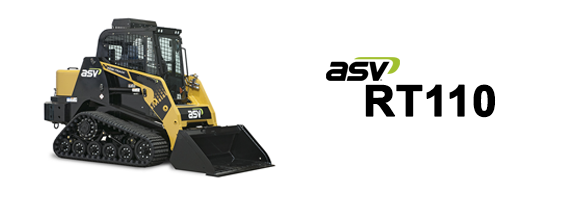 ASV RT110 Posi-Track Loader