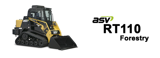 ASV RT110 Forestry Posi-Track Loader