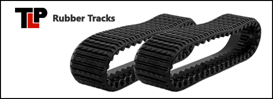 Terex PT110 Forestry Rubber Tracks and Track Repair