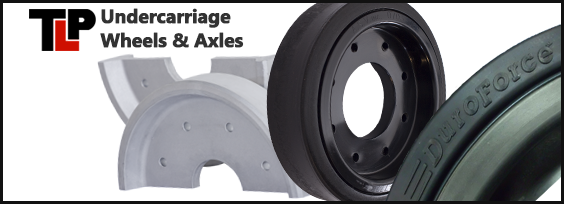 Terex PT80 Undercarriage Wheels and Axles