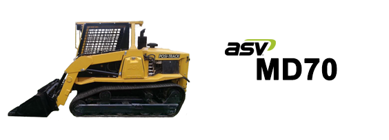 ASV MD70 Posi-Track Loader