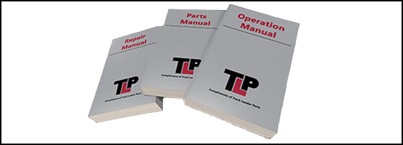 ASV RT110 Forestry Free Manuals