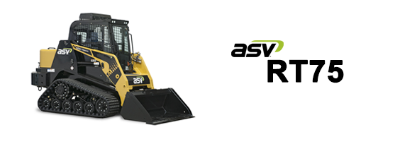 ASV RT75 Posi-Track Loader