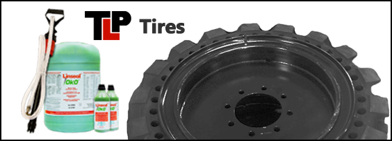 Terex V350S Tires and Sealant